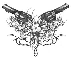 pin by zoranna berry on guns and flowers pinterest tattoo and