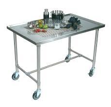 stainless steel kitchen island kitchen cart with drawers stainless steel carts with drawers 3