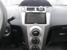 toyota yaris 2009 hatchback joying android stereo in a toyota yaris 2009