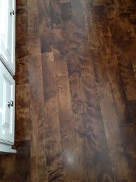 stained maple floors houzz