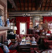rustic eclectic decor living room rustic with vaulted ceiling