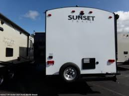 Sunset Trail Rv Floor Plans Sccs0428 2018 Crossroads Sunset Trail 262bh For Sale In North
