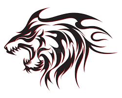 tribal wolf stock illustration illustration of beautiful