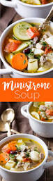 best 25 ministrone soup ideas on pinterest minestrone olive