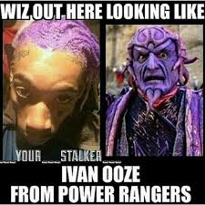 Rapper Memes - fans provide funny memes after wiz khalifa dyes hair purple