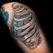 60 mushroom tattoo designs for men fungus ink ideas