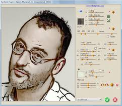 photo sketch photo to sketch in sketch master photo software