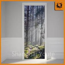 stickers for glass doors river wall decal nature wall sticker nature door mural forest