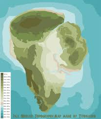 Correct World Map by Isla Nublar Topographic Map Don U0027t Be Silly Pinterest