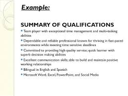 skills exles for resume exle qualifications for resume personal skill skill exles