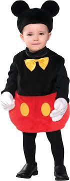 mickey mouse toddler costume baby disney mickey mouse costume party city