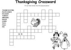 thanksgiving wordsearch crossword puzzle and more thanksgiving