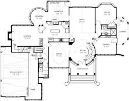 great house plans home office