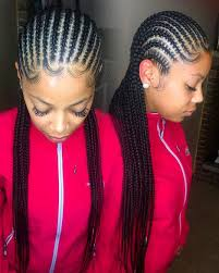 hairstlye of straight back stylecaster protective hairstyles to try straight back