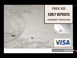 best prepaid debit card netspend best prepaid debit card free 20 and make 200 per day