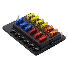 auto box auto box porte fusible 12 fa罘ons circuit lame bo羂te 罌 fusibles 32