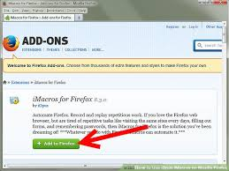 imacros tutorial loop how to use iopus imacros on mozilla firefox with pictures