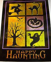 amazon com halloween hologram window cling happy haunting