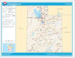 Topographic Map Of Utah by Utah Maps And State Information