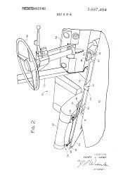 patent us3687484 lift truck with overhead guard and