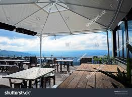 rooftop coffee shop bar interior wonderful stock photo 652057999