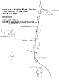 Mesa College Campus Map Directions Mendocino