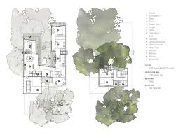 U Shaped House Plans by Bold And Modern U Shaped Courtyard House Designed Around Trees