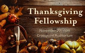 thanksgiving fellowship crosspoint church
