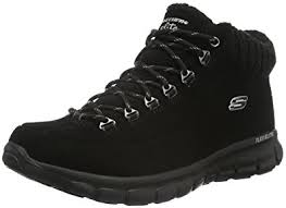 skechers womens boots uk skechers s synergy winter nights ankle boots amazon co uk