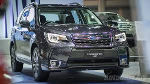 subaru forester 2016 subaru forester facelift now assembled in m u0027sia priced from