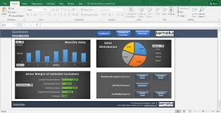 sales report template excel dashboard for managers templates