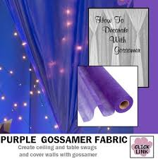 Drape Of Fabric Gossamer Fabric Can Be Used To Cover Walls Drape Ceilings And