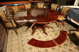 round dining room tables with self storing leaves beautiful decoration round dining table with leaves peachy design