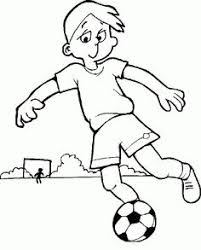 soccer coloring crafts soccer