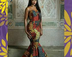 african prom dress etsy