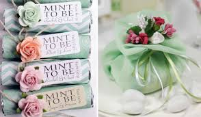 mint to be wedding favors mint wedding gifts tulle chantilly wedding