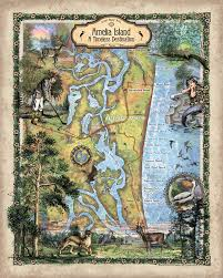 Amelia Island Map Keep Some Sunshine In Your Life With Our New Florida Maps Great