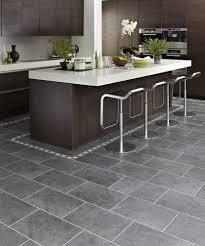 kitchen flooring cork laminate wood look gray tile floor low gloss