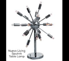 Decor Living Sputnik Check Out Our New Lighting From Nuevo Living Mod Livin U0027 Modern