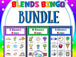blends bingo game l blends by thereadingroundup teaching