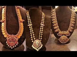 vintage long gold necklace images 25 best gold antique jewellery haram designs jpg