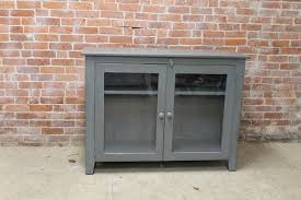 Media Cabinets With Glass Doors Glass Door Media Cabinet Ecustomfinishes