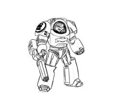 online robot coloring pages free image