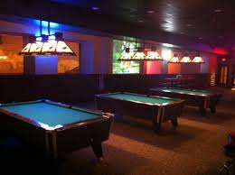 Pool Table Conference Table Pool Volleyball Softball The Loose Moose Saloon And Conference