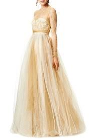 dipped in gold dipped in gold gown by marchesa notte for 200 215 rent the