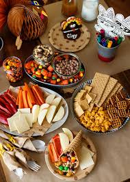 Thanksgiving Trail Mix Thanksgiving Kids Table Baked Bree