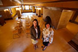 darwin martin house restored basement at darwin d martin house becomes education