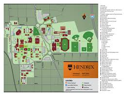 Garden State Plaza Map by Campus Map By Hendrix College Issuu