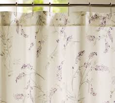 Dainty Home Flamenco Ruffled Shower Curtain Wonderful Lavender Shower Curtains Curtain At Anthro For