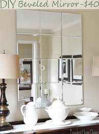 Beveled Bathroom Mirror by Best 25 Mirror Wall Tiles Ideas That You Will Like On Pinterest